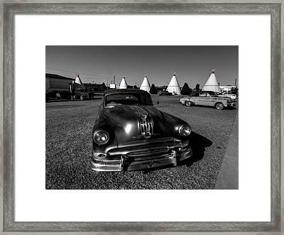Holbrook Az - Wigwam Motel 005 Framed Print by Lance Vaughn