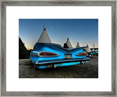 Holbrook Az - Wigwam Motel 011 Framed Print by Lance Vaughn