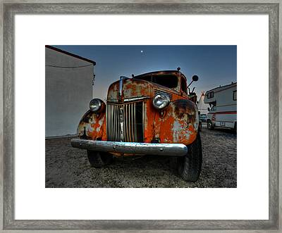 Holbrook Az - Wigwam Motel 012 Framed Print by Lance Vaughn