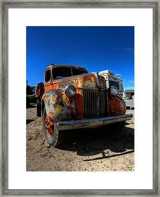 Holbrook Az - Wigwam Motel 016 Framed Print by Lance Vaughn