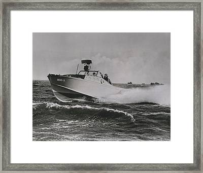 Hold For Release Until 600 P.m.  4 Nov. 1957 Framed Print by Retro Images Archive