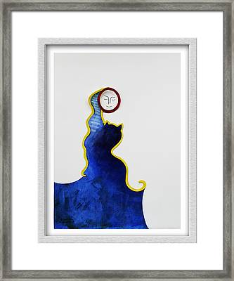 Hold Me Framed Print by Eve Riser Roberts