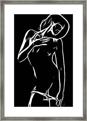 Hold Me Framed Print by Steve K