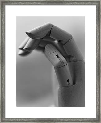 Hold On Framed Print by Andrew Pacheco