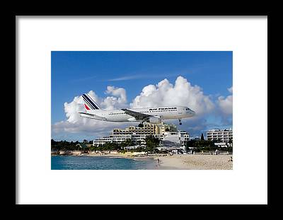 Sint Maarten Framed Prints