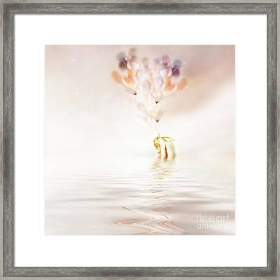 Hold On To Hope Framed Print by Jacky Gerritsen