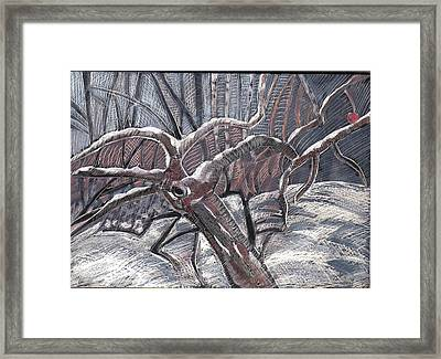 Hold Out Framed Print