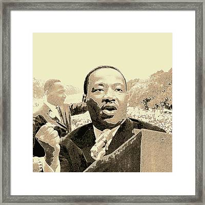 Hold Strong To The Dream Framed Print by Randell Gates