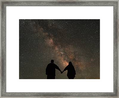 Hold Tight Framed Print by Kristopher Schoenleber