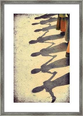 Holding Hands Framed Print by Tim Gainey