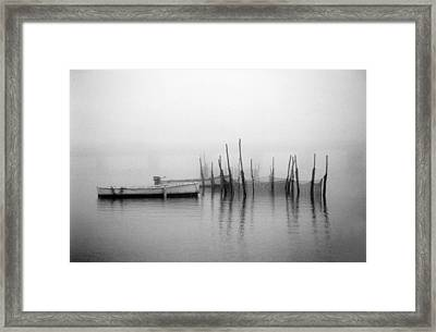 Holding Nets Framed Print by Skip Willits