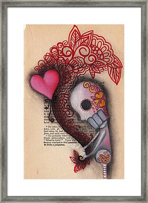 Holding On Framed Print by  Abril Andrade Griffith