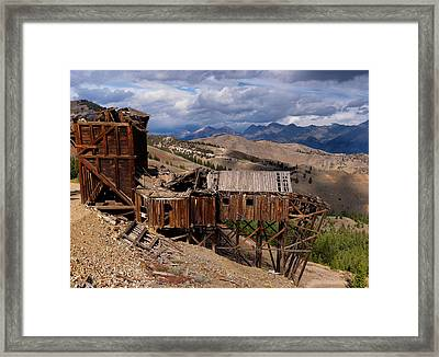 Holding On Framed Print by Leland D Howard