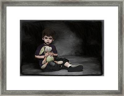 Holding On To Safety Framed Print by Gun Legler