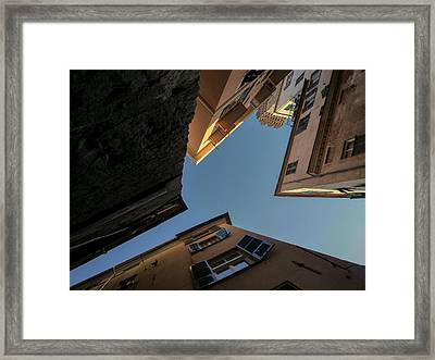 Holding Onto Heaven.. Framed Print by A Rey