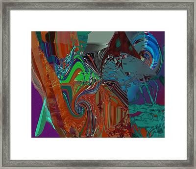 Hole Depth Framed Print