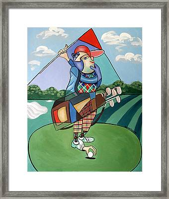 Hole In One Framed Print by Anthony Falbo