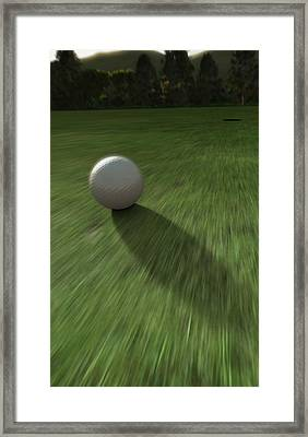 Hole In One Framed Print by Cynthia Decker