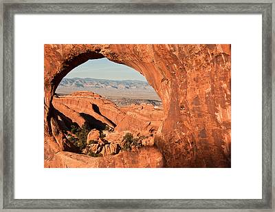 Hole In One Framed Print