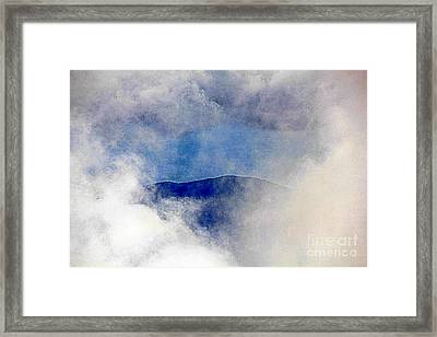 Hole  In The  Clouds Framed Print
