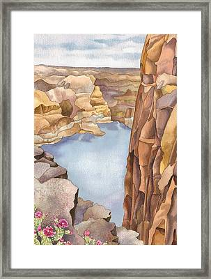 Hole In The Rock Framed Print