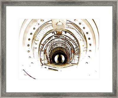 Framed Print featuring the photograph Hole by Paul Foutz