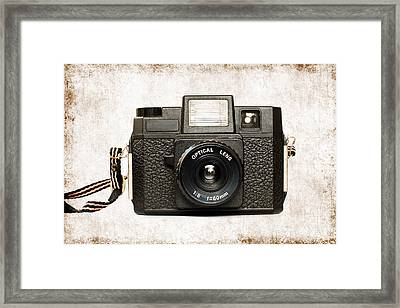 Holga Framed Print by Delphimages Photo Creations