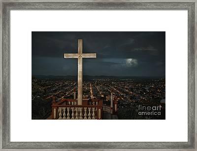 Holguin Cuba Loma De La Cruz Framed Print
