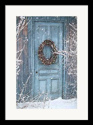 Rustic Door Framed Prints
