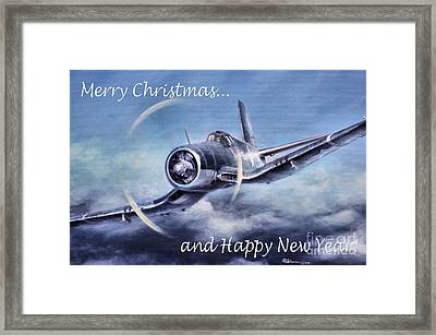 Framed Print featuring the painting Holiday Card by Stephen Roberson