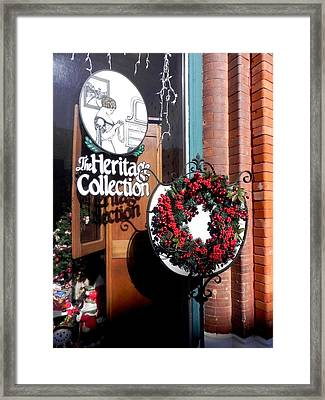 Holiday Classic Framed Print