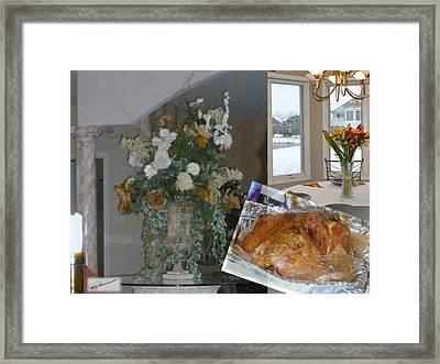 Holiday Collage Framed Print