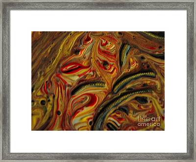 Holiday Colors Framed Print by Jackie Bodnar