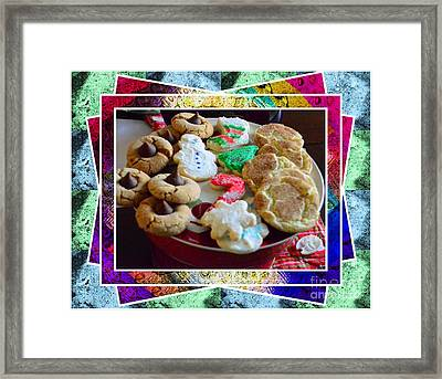 Holiday Cookies Framed Print