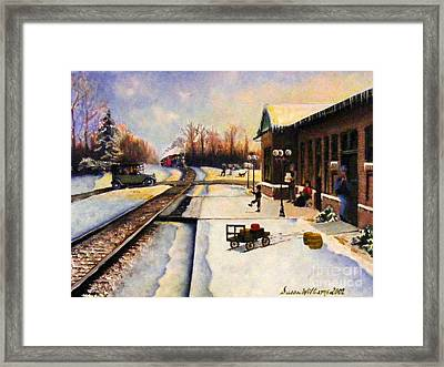 Holiday Depot 1932 Framed Print