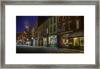 Holiday Front Framed Print