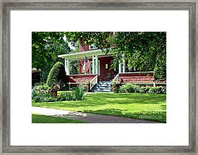 Holiday Garb Framed Print