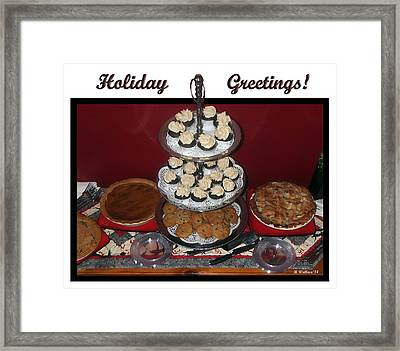 Holiday Greetings Framed Print