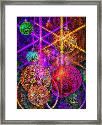 Holiday Greetings Framed Print by EricaMaxine  Price
