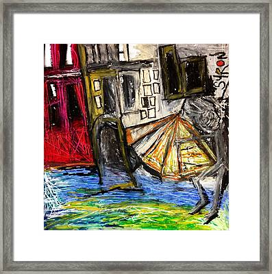 Holiday In Venice Framed Print by Helen Syron