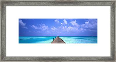 Holiday Island Maldives Framed Print by Panoramic Images