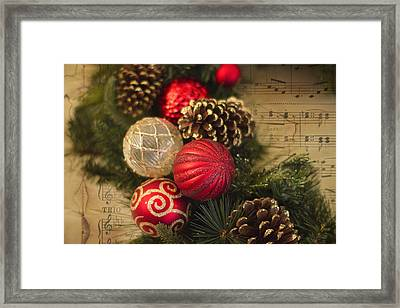 Holiday Music Framed Print