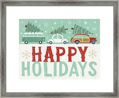 Holiday On Wheels Ix Framed Print by Michael Mullan
