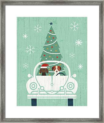 Holiday On Wheels Xiii Framed Print by Michael Mullan