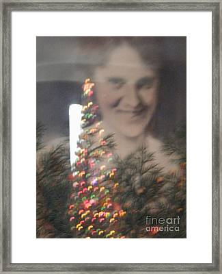Holiday Reflection Framed Print