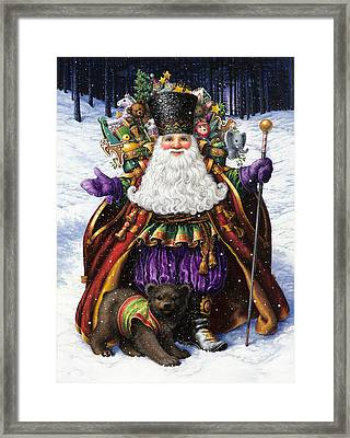 Holiday Riches Framed Print