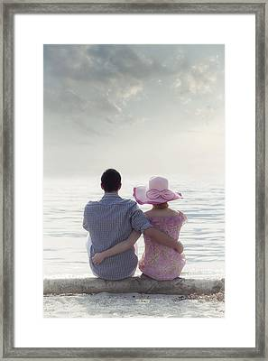 Holiday Romance Framed Print