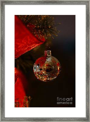 Framed Print featuring the photograph Holiday Season by Linda Shafer