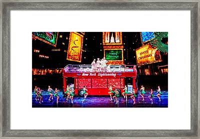 Holiday Sightseeing Framed Print
