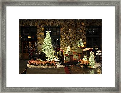 Holiday Sleigh Hsp Framed Print by Jim Brage